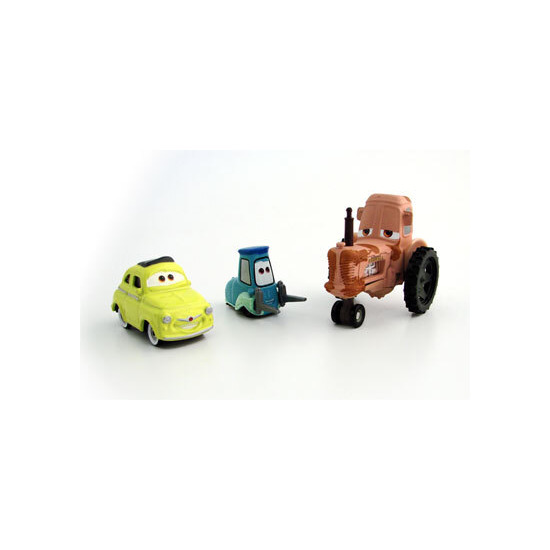 Disney Pixar Cars - Diecast Movie Moments - Luigi, Guido & Tractor