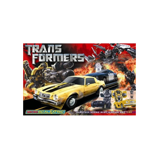 Micro Scalextric - Transformers