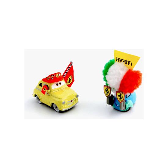 Disney Pixar Cars - Diecast Movie Moments - Ferrari Luigi & Guido