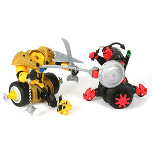 Photo of Battle Wheels Warrior Twin Pack Toy