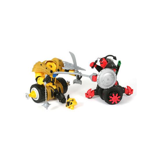 Battle Wheels Warrior Twin Pack