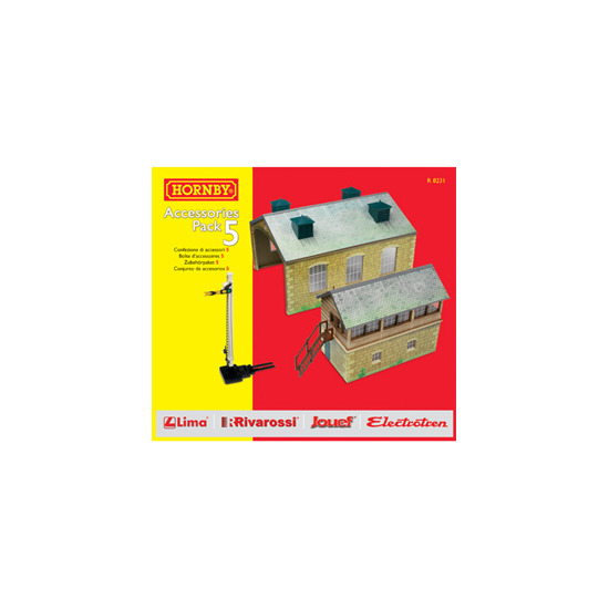 Hornby TrakMat Accessories Pack of 5