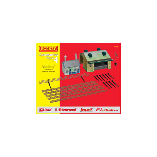 Hornby TrakMat Accessories Pack 4