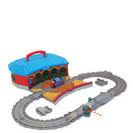 Take Along Thomas & Friends - Work & Play Engine Shed Playset Reviews