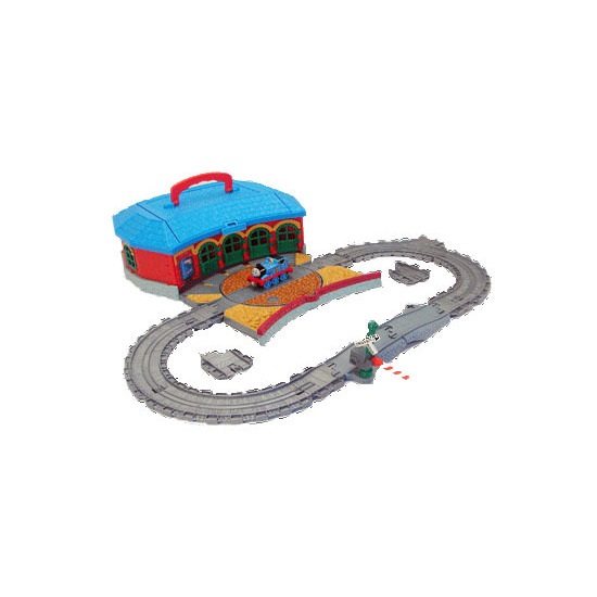 Take Along Thomas & Friends - Work & Play Engine Shed Playset