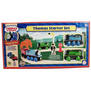 Photo of Thomas & Friends Wooden Railway - Thomas Starter Set Toy