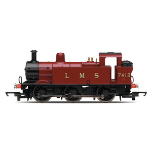 Photo of Hornby LMS 3F 0-6-0 Locomotive Toy