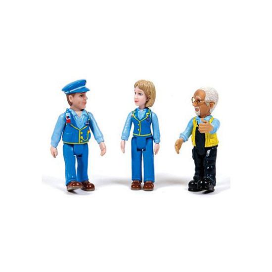 Underground Ernie - Ernie, Millie & Mr Rail Figures