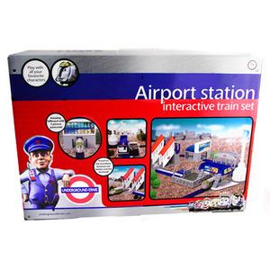 Photo of Underground Ernie - Airport Station Interactive Train Set Toy