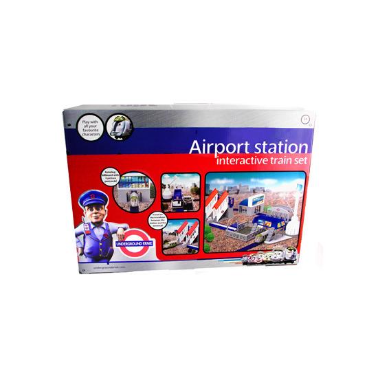 Underground Ernie - Airport Station Interactive Train Set