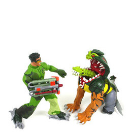 Action Man ATOM - Hybridon Attack vs Axel Reviews