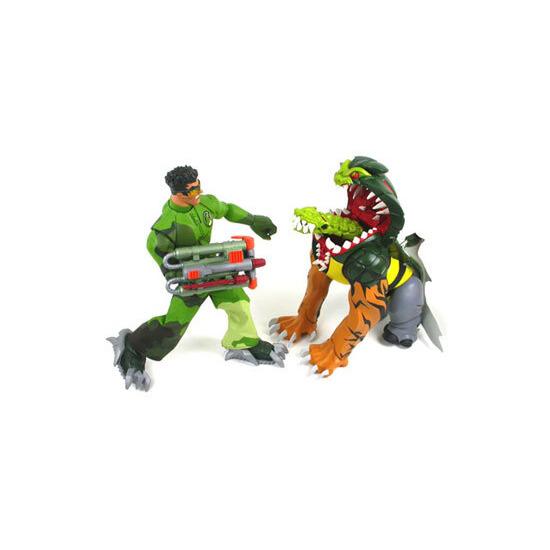 Action Man ATOM - Hybridon Attack vs Axel
