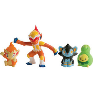Photo of Pokemon Diamond & Pearl - 4 Figure Set K Toy