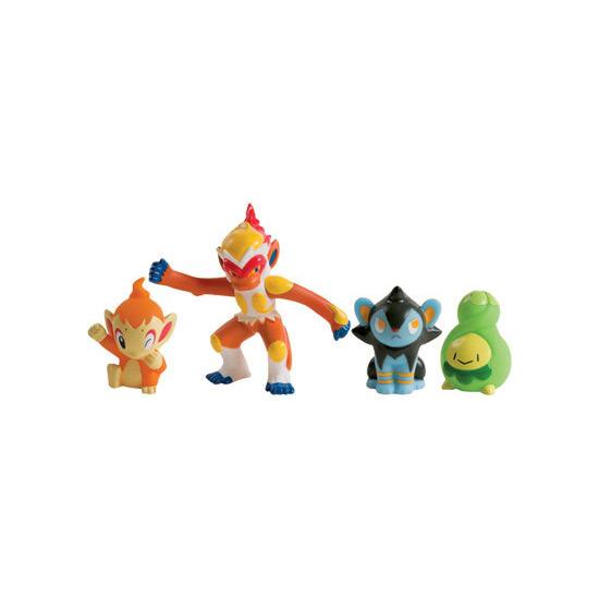 Pokemon Diamond & Pearl - 4 Figure Set K