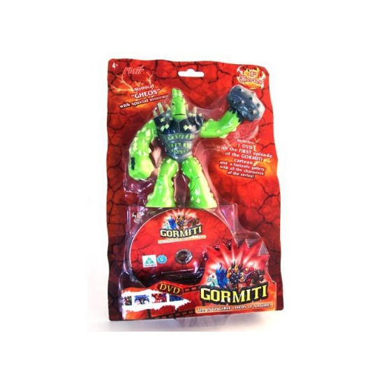 Gormiti - Gheos with 3 Figures