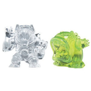 Photo of Ben 10 - Transforming Alien Rocks - Upchuck & Benwolf Toy