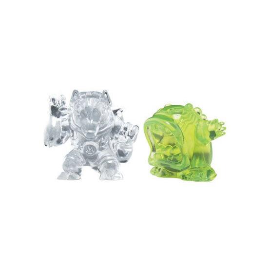 Ben 10 - Transforming Alien Rocks - Upchuck & Benwolf