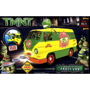 Photo of TMNT Cowabunga Carl Party Van Toy