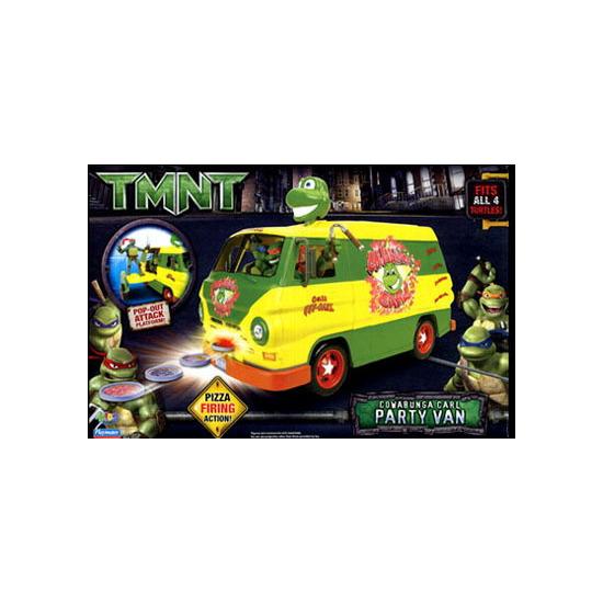 TMNT Cowabunga Carl Party Van