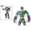 Photo of 12.5CM Green Legendary Battlized Power Ranger Figure Toy