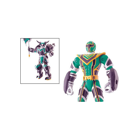 12.5cm Green Legendary Battlized Power Ranger Figure