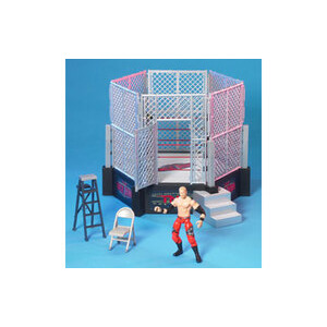 Photo of TNA Lockdown Six-Sides Of Steel Cage Toy