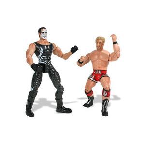 Photo of TNA Lockdown - Sting Vs. Jeff Jarrett Toy