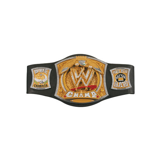 WWE Spinning Heavyweight Championship Belt