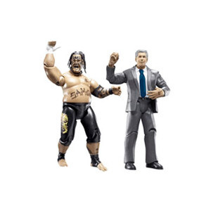 Photo of WWE Adrenaline Series 28 - Umaga & MR MCMAHON Toy