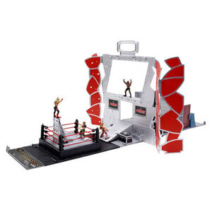 Photo of WWE Micro Aggression 2-In-1 Battle Arena Toy