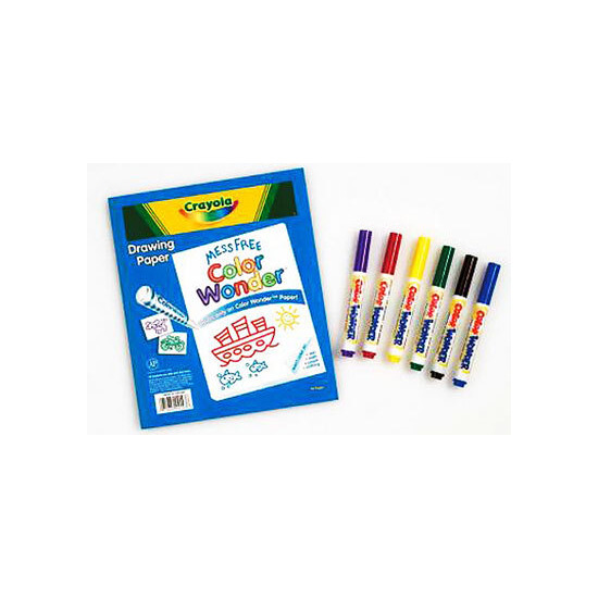 Crayola - Colour Wonder Pad Set