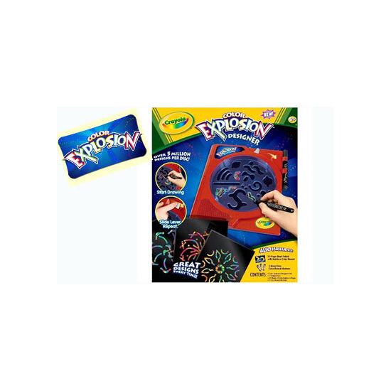 Crayola - Colour Explosion Designer