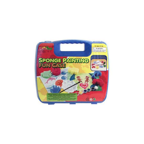Sponge Painting Fun Craft Case