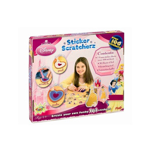 Photo of Disney Princess Sticker Scratcherz Toy