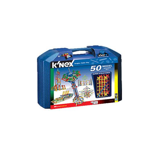 Knex - 50 Model Building Set Super Structures