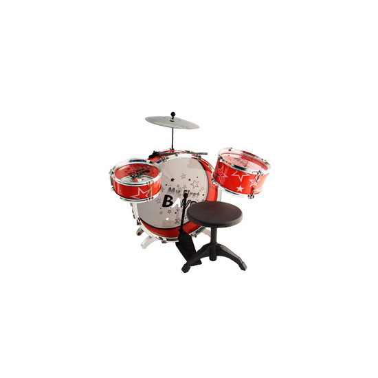 Groovy Tunes - Drum Set with Chair