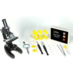 Photo of National Geographic - 300X, 600X, 1200X Diecast Metal Microscope Toy