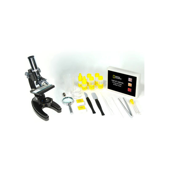 National Geographic - 300X, 600X, 1200X Diecast Metal Microscope