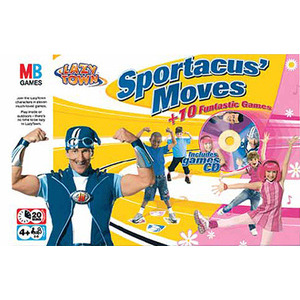 Photo of Lazy Town - Sportacus' Moves Board Games and Puzzle
