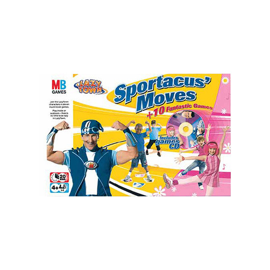 Lazy Town - Sportacus' Moves