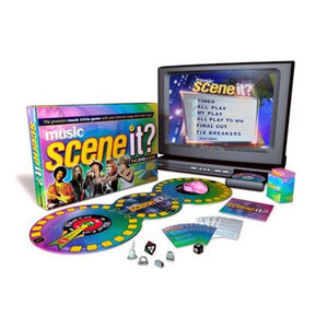 Photo of Scene It? Music Edition DVD Game Toy