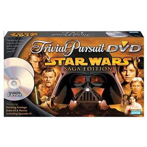 Photo of Trivial Pursuit DVD - Star Wars Saga Edition Toy