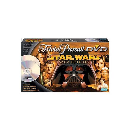 Trivial Pursuit DVD - Star Wars Saga Edition
