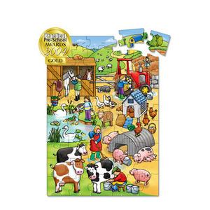 Photo of Giant Farm Puzzle Toy