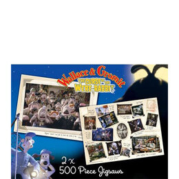 Wallace & Gromit 2 x 500 pc Jigsaw Puzzles Reviews