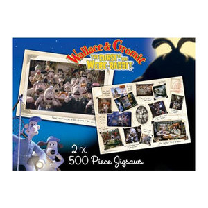 Photo of Wallace & Gromit 2 X 500 PC Jigsaw Puzzles Toy