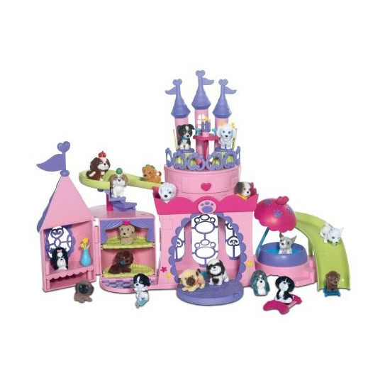 Puppy & Kitty in My Pocket - Pretty Pet Palace
