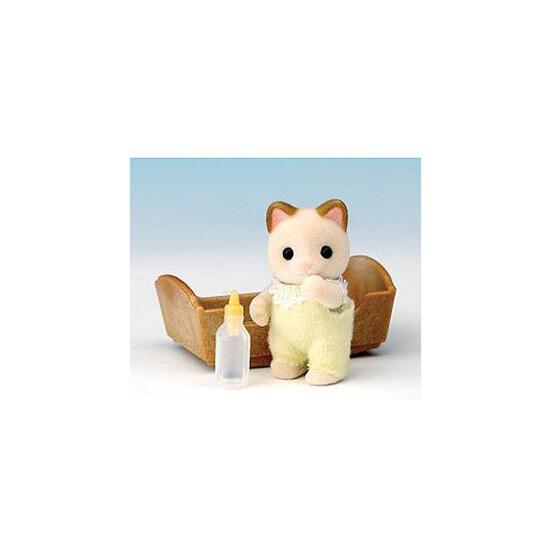 Sylvanian Families - Cream Cat Baby