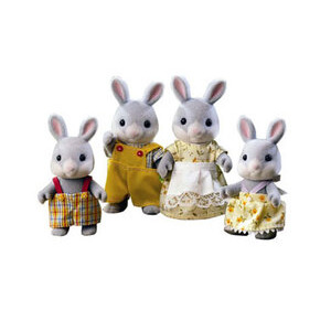 Photo of Sylvanian Families - Cottontail Rabbit Family Toy