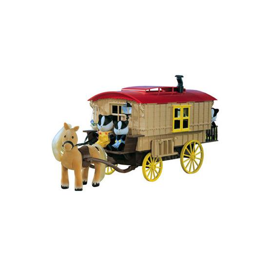 Sylvanian Families - Caravan & Pony